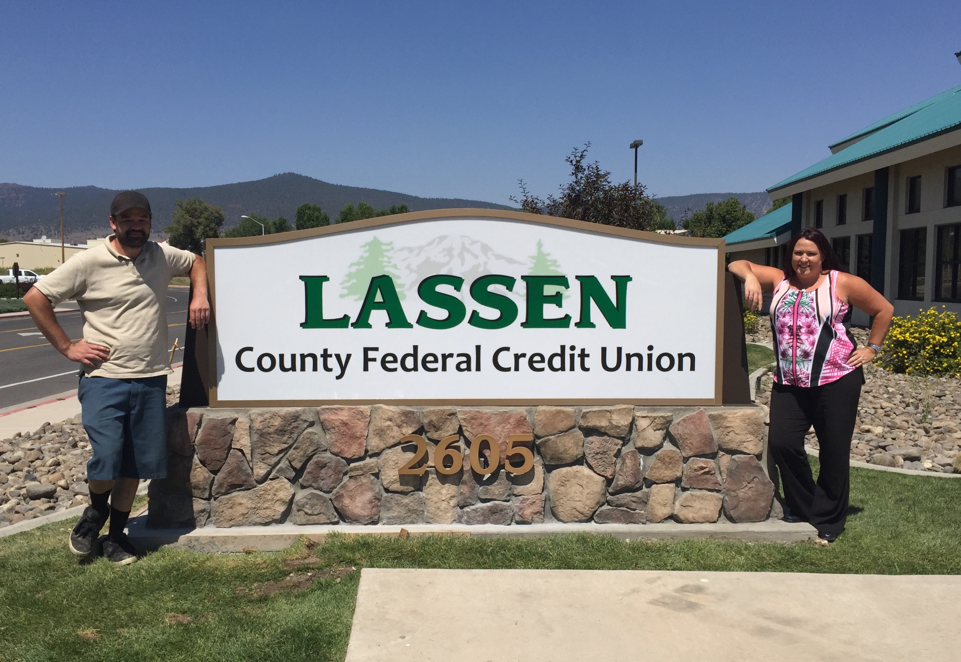 Come and visit us at Lassen County Federal Credit Union.