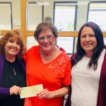 LCFCU Staff presenting a donation to Lassen Senior Services